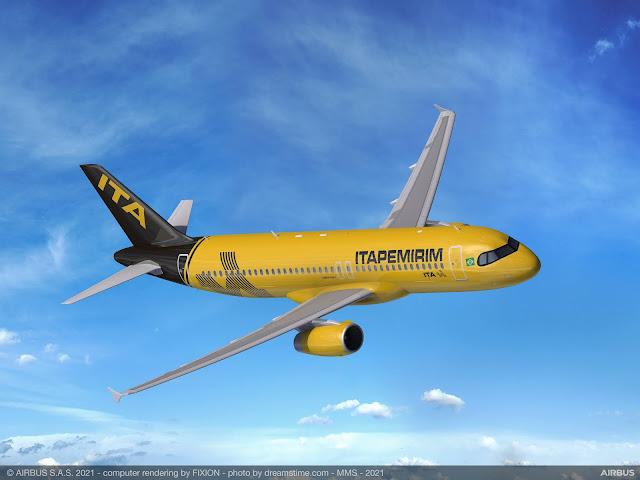 Primeiro Avião da Itapemirim Transportes Aéreos já está em São José dos Campos | É MAIS QUE VOAR
