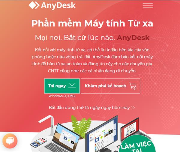 Tải AnyDesk Remote Desktop bản mới nhất cho Android, Windows b