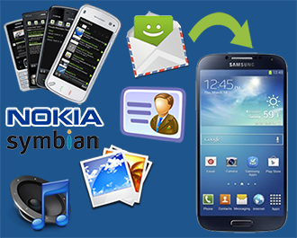 nokia contacts to samsung galaxy s4