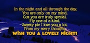 Good Night SMS Messages - Good Night SMS Quotes