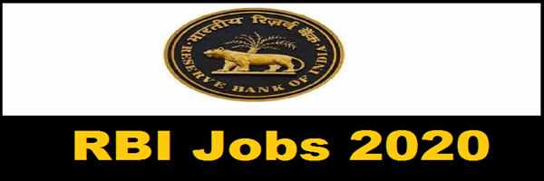RBI 926 Assistant Job Vacancy 2020