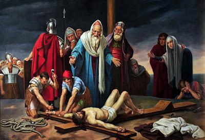Resultado de imagem para via sacra SEGUNDA ESTAÇÃO: ENTREGAM A CRUZ A MEU FILHO