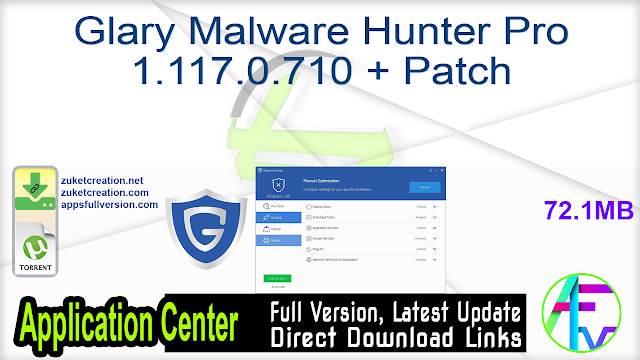 Glary Malware Hunter Pro 1.117.0.710 + Patch