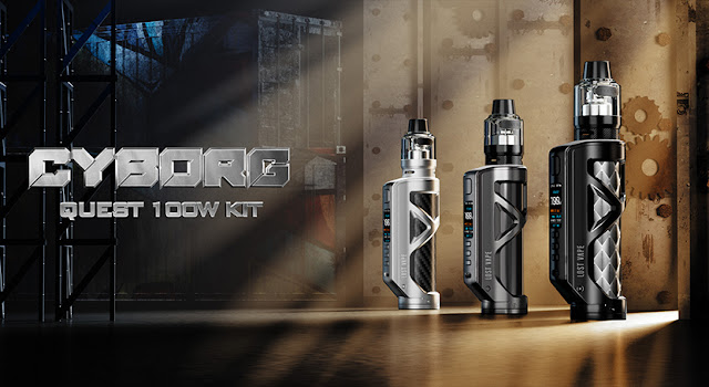 What Can We Expect from  Lost Vape Cyborg Quest 100W Kit?