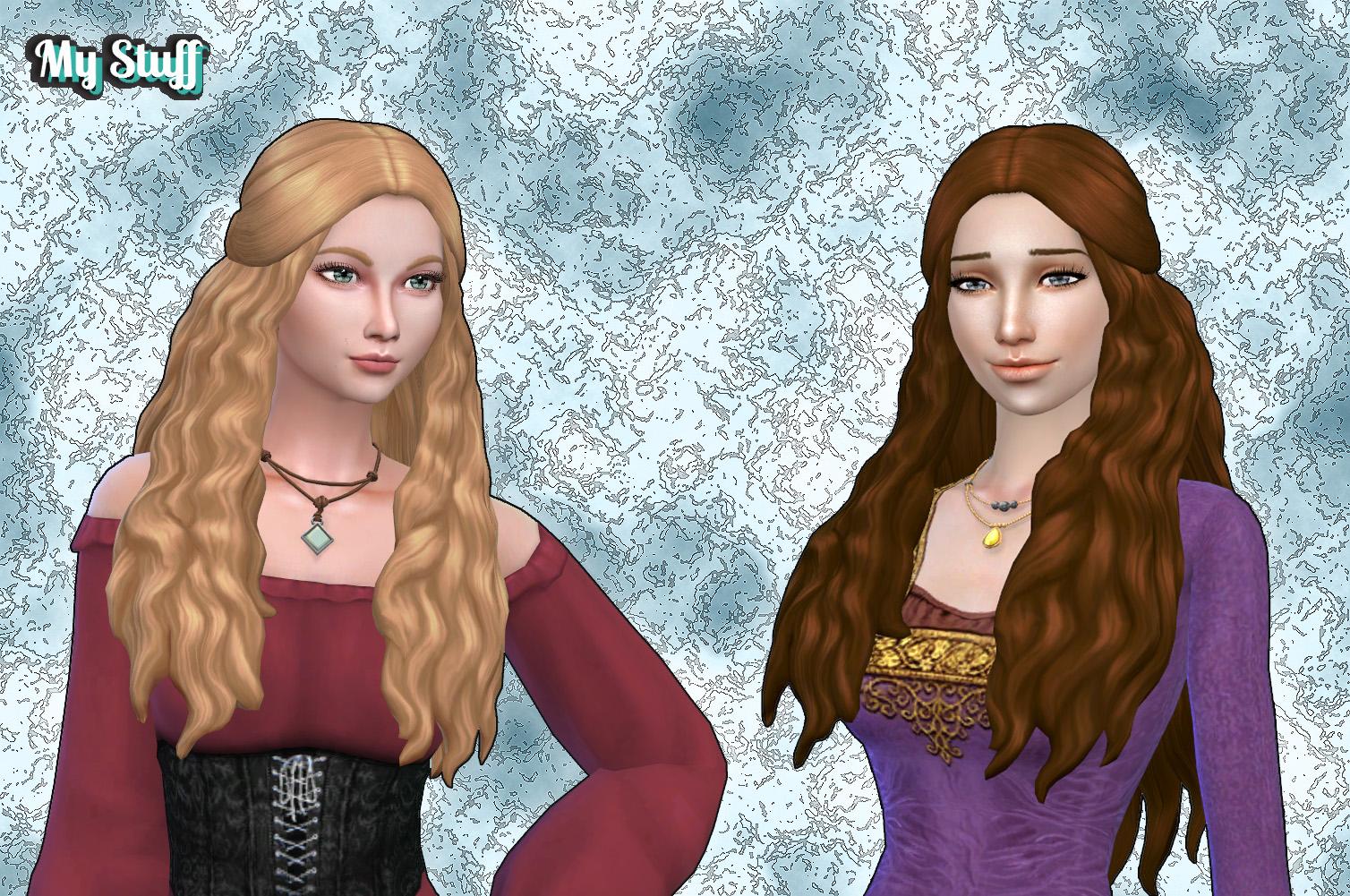 sims 4 long hair female download