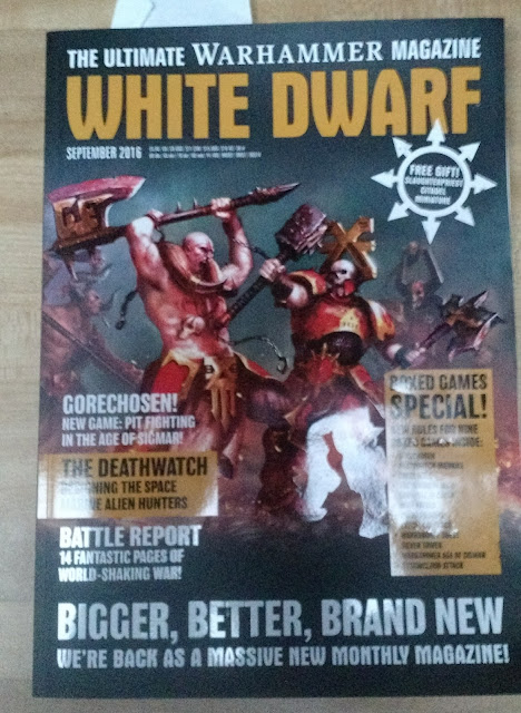 White Dwarf Monthly Cover #1