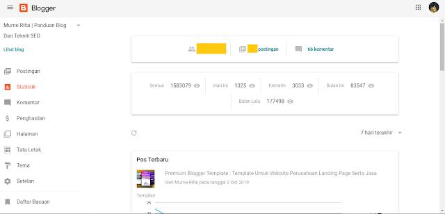 Review Update Tampilan Blogger Terbaru