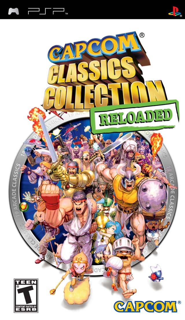 ROMs - Capcom Classics Collection Reloaded - PSP Download