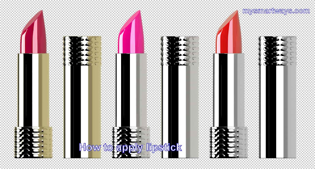 How to apply lipstick-How to use lipstick in Hindi