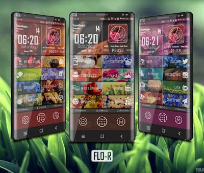 FLO-R Tema Xiaomi MIUI 8