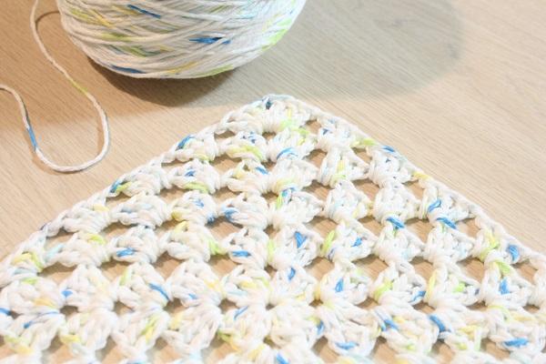 crochet, cotton, granny square, Granny-Spiration Challenge
