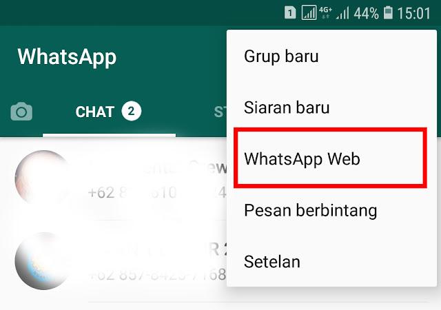 Cara Membuka WA (WhatsApp) di Browser Laptop 15