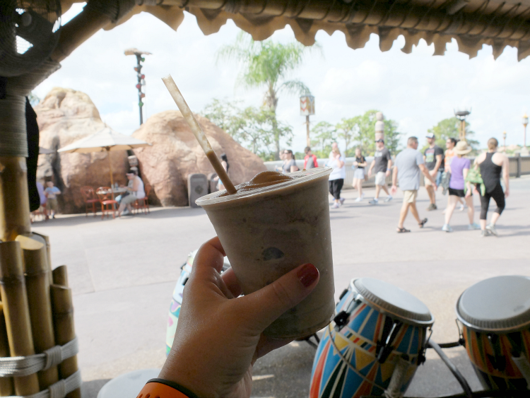 Walt Disney World, Epcot, Outpost, Frozen Brown Elephant