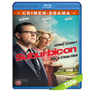 Suburbicon Bienvenidos Al Paraiso (2017) BRRip 720p Audio Trial Latino-Castellano-Ingles 5.1