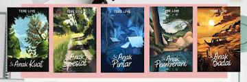 Urutan Novel Tere Liye Serial Si Anak Nusantara Lengkap