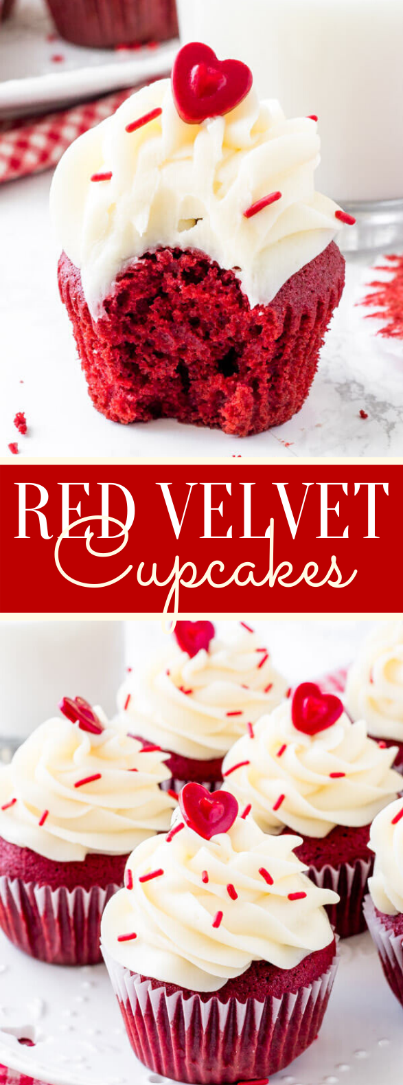 Red Velvet Cupcakes #desserts #cake
