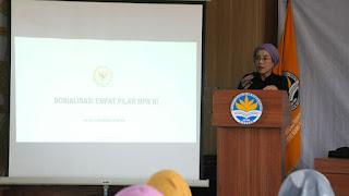 Selly Anggota DPR RI Inginkan Generasi Muda Terapkan 4 Pilar Kebangsaan