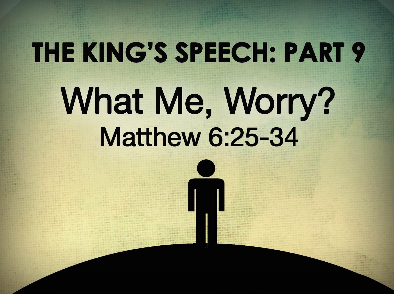 Matt Messner S Blog The King S Speech Part Ix