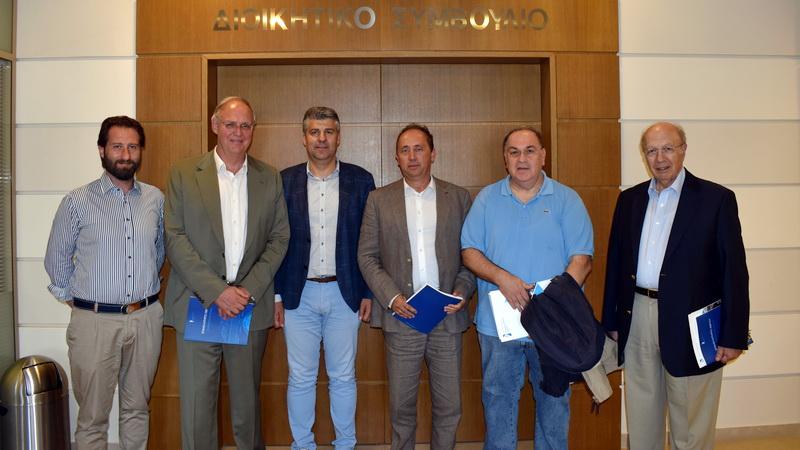 Επίσκεψη του Διεθνούς Εμπορικού Επιμελητηρίου στο Επιμελητήριο Έβρου