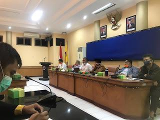 Rapat Program Karantina Yang Dilaksanakan oleh Pemkot Tarakan di Ruang Imbaya - Tarakan Info