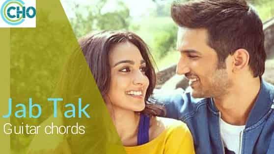 JAB TAK guitar chords with lyrics Accurate | Armaan Malik | Ms Dhoni