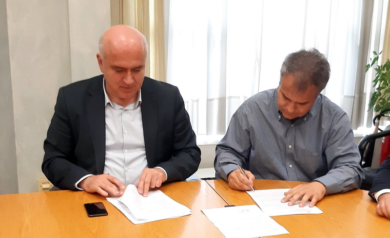 Υπογράφηκε η σύμβαση για την κατασκευή γέφυρας επί του ποταμού Λίσσου στην επαρχιακή οδό Φιλλύρας - Αρριανών