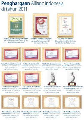 Penghargaan Allianz Tahun 2011