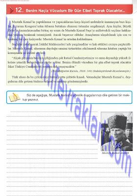 8. Sınıf İnkılap Tarihi Top Yayınları Çalışma Kitabı Cevapları Sayfa 58
