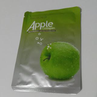 elma kök hücre kolajen biyoselüloz cil bakım maskesi