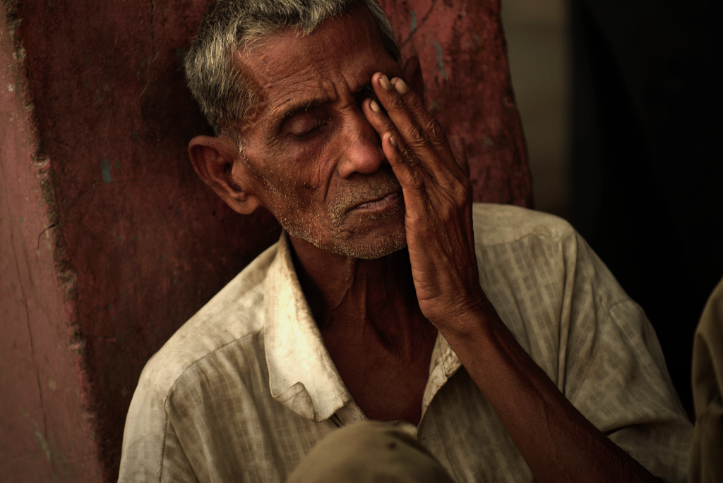 Chawri Bazar Rd portraiture submitted to the 'Critics' Choice 2021' photo competition on LensCulture.