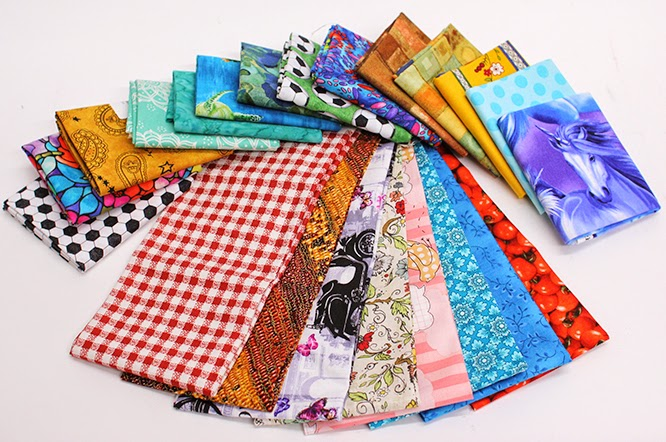 Fat Quarters are 4 for $12