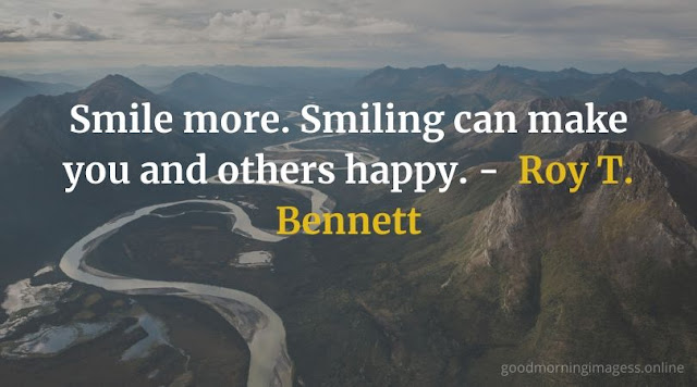 Good Morning Images With Smile Quotes 10