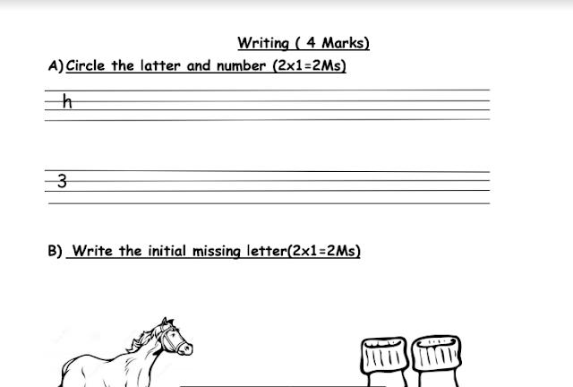 مذكرة تأسيس حروف اللغة الإنجليزية للمرحلة الابتدائية