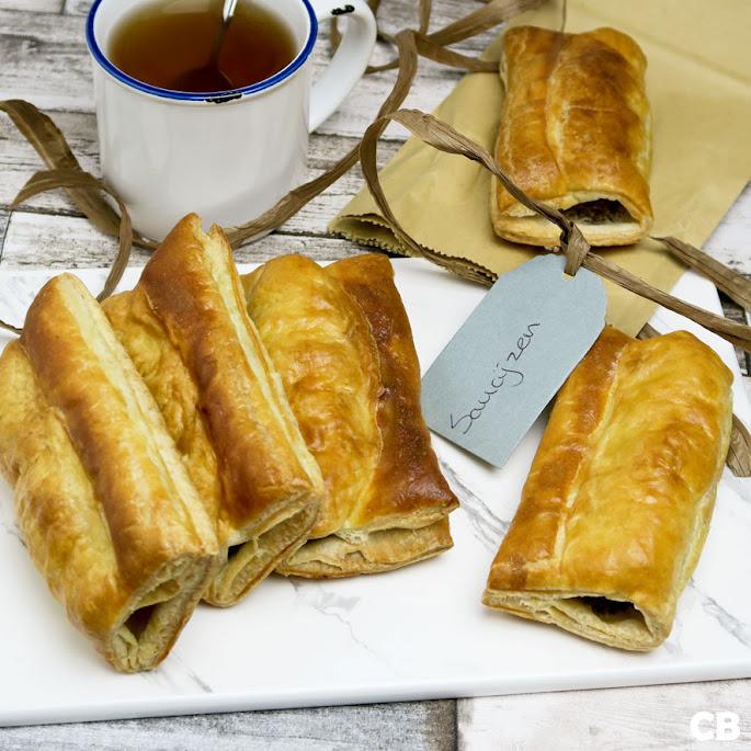Recept Kalfssaucijzenbroodjes met krokante pistachenootjes