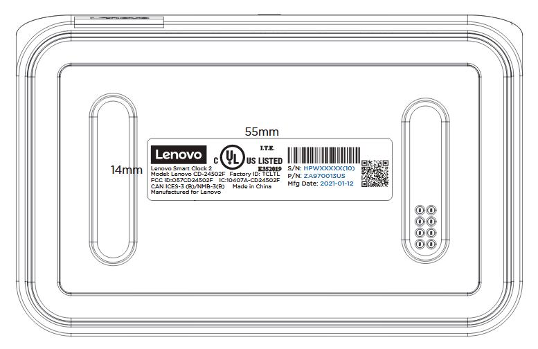 Lenovo stellt eine weitere Smart Clock mit einer kabelloser Ladestation her