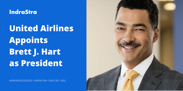 United Airlines Appoints Brett J. Hart as President