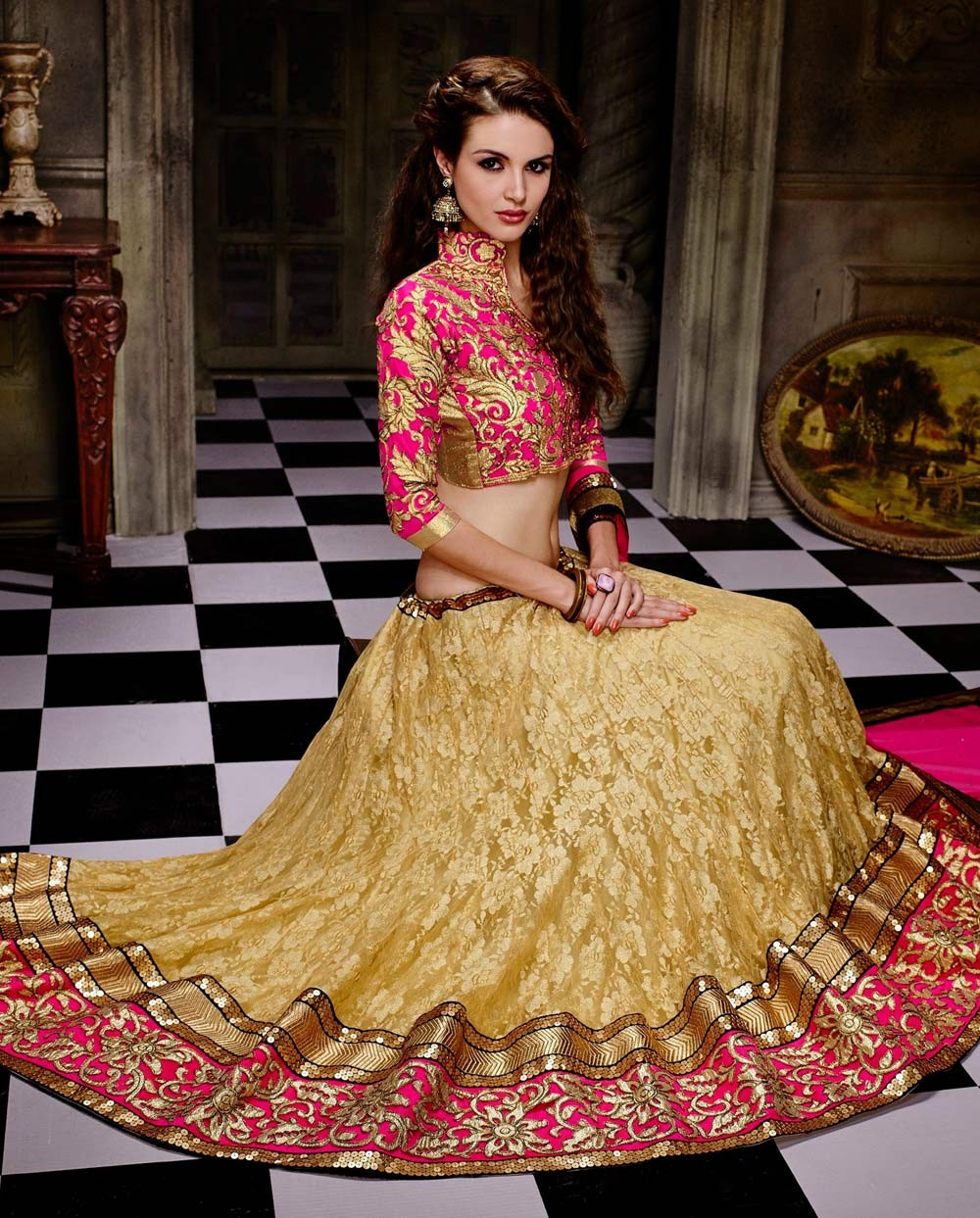 2d39cdd820 Indian women ethnic attire has successfully brought India at a leading  position in world women fashion due to their outstanding quality of fabric.