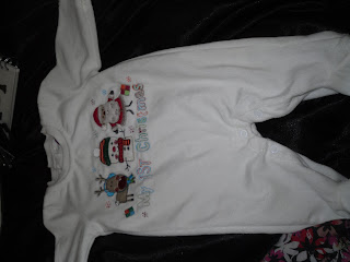 baby first Christmas outfit
