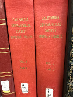 two red book spines