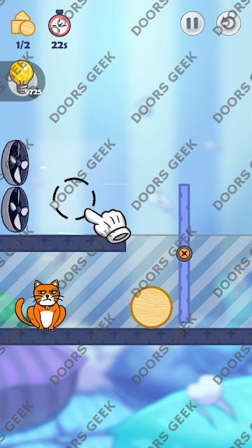 Hello Cats Level 206 Solution, Cheats, Walkthrough 3 Stars for Android and iOS
