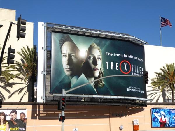 The X-Files 2016 mini-series billboard