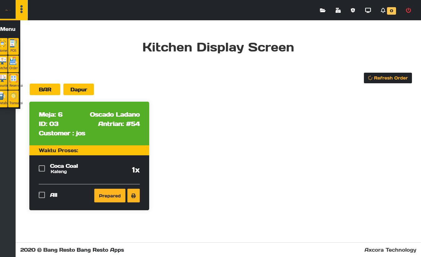 aplikasi restoran cafe rumah makan