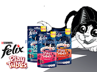 Logo PetPassion ''Giochi sotto l'albero'': vinci gratis forniture Felix Playtubes