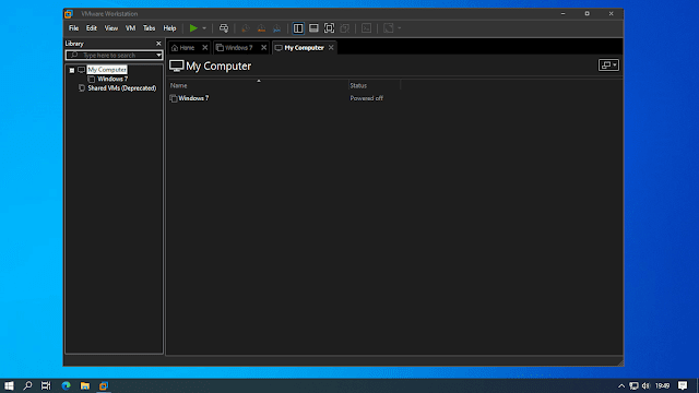 vmware workstation 16 PRO