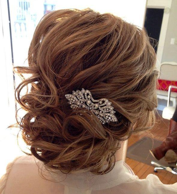 Glamorous Updos For Medium Length Hair The Haircut Web