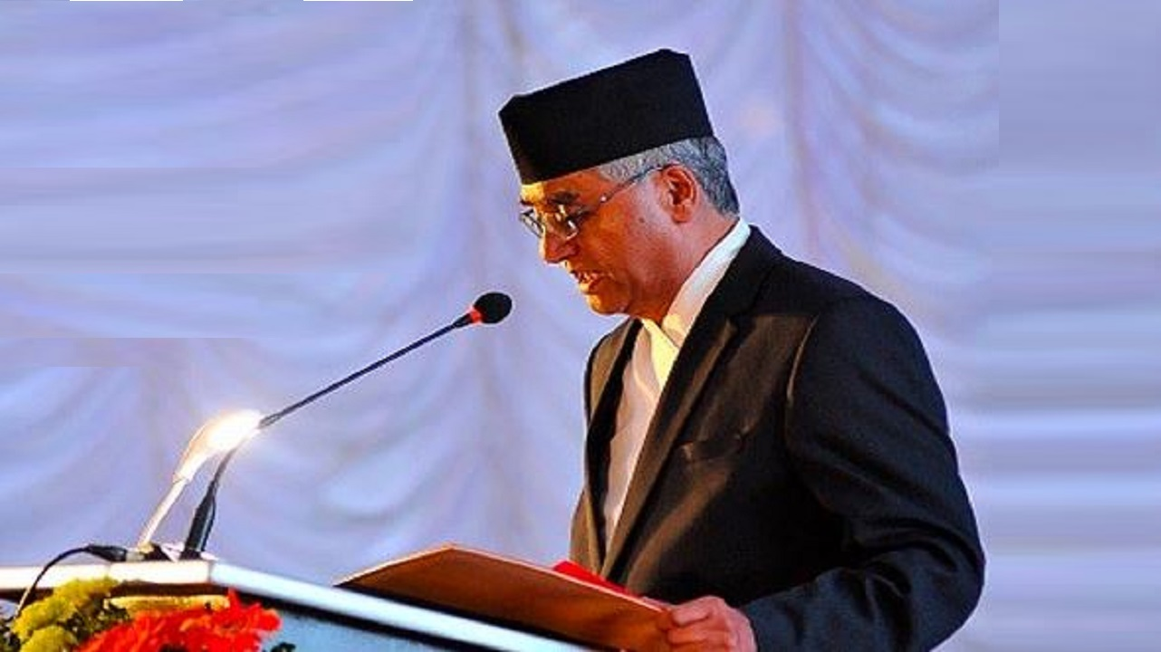 India supporter Sher Bahadur Deuba  took over the command of Nepal