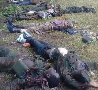 Graphic Photos: Nigerian troops kill several Boko Haram terrorists in Yobe State