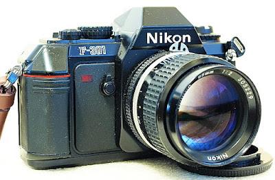 Nikon F-301, Nikkor Ai-S 85mm F2