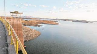 Açude Castanhão sofre com a longa seca e tem situação delicada