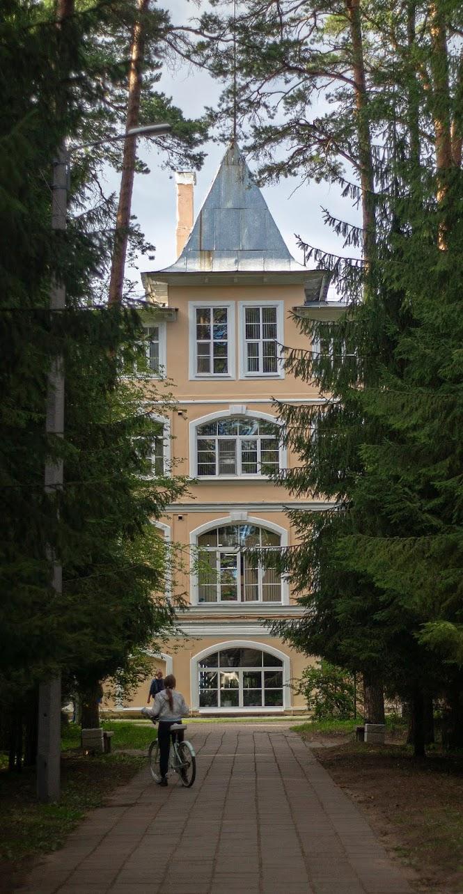 Сестрорецк курорт север Ленинградская область санаторий